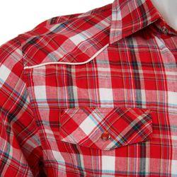 210 Mens Austin Plaid Woven Shirt