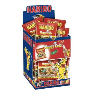 HARIBO Happy Cola 30 Mini Sachets   Achat / Vente CONFISERIE DE SUCRE