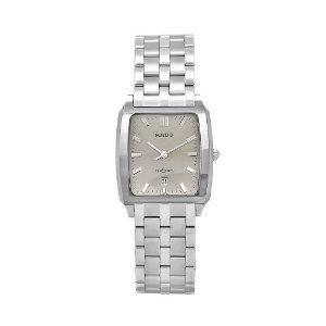 Rado Mens Diastar Stainless Steel Silver Dial Watch
