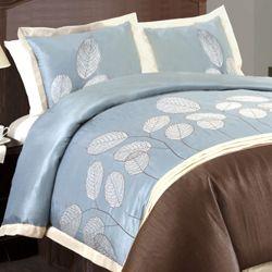 Blue/Brown 4 piece Comforter Set Today $94.99   $109.99