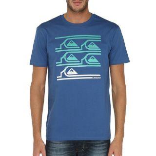 QUIKSILVER T Shirt Homme Bleu royal   Achat / Vente T SHIRT QUIKSILVER