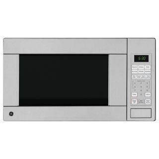 GE Stainless Steel 1.1 Cubic Foot Countertop Microwave Oven Today $