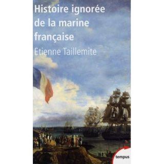 Histoire ignorée de la marine française   Achat / Vente livre