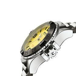 Invicta Mens Reserve Black Ion plated and Stainless Steel Watch