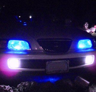 194 168 T10 5050 SMD LED Blue Bulbs Dome lights 12V (2 bulbs)