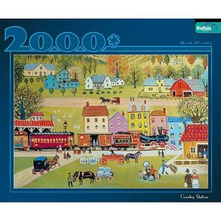 Buffalo Games 2000 piece Country Station Jigsaw Puzzle