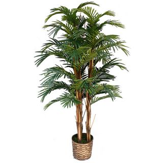 Silk Palm Tree with Wicker Basket Planter Today $113.99