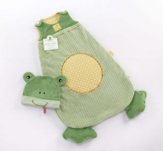 Baby Aspen sLEAPy Baby Frog Snuggle Sack Gift Set