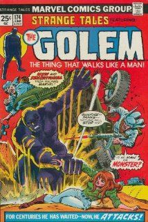 Strange Tales (1st Series) #174 Brother Voodoo There Walks The Golem