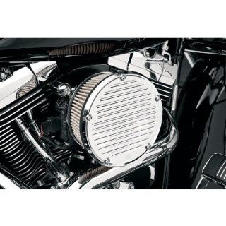Arlen Ness Chrome Big Sucker Derby Cover Air Filter Kit with Stainless
