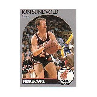 1990 91 Hoops #171A Jon Sundvold Collectibles