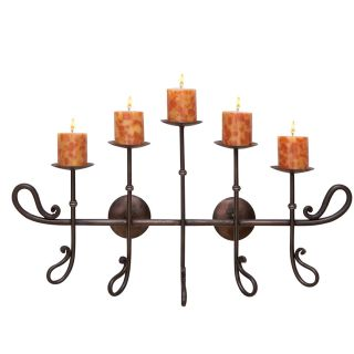 Artisian Pilar Candle Holder Wall Sconce