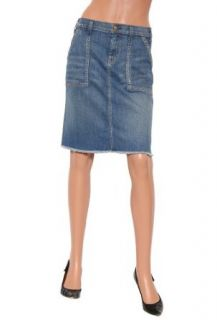 Womens Textile Elizabeth and James Carly Denim Skirt in
