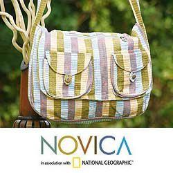 Cotton Summer Song Shoulder Bag (Guatemala)