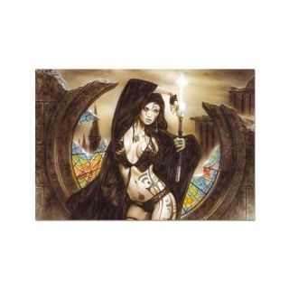 The Goddess Ama No Uzume and Dawn, Luis Royo 1500 piece Puzzle