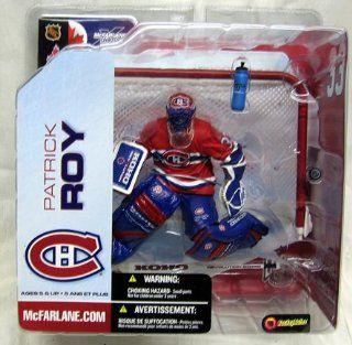 McFarlane NHL 5 Patrick Roy Montreal Canadians Red Variant