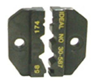 Ideal Crimpmaster Die Set, For RG 58/RG 174, 50 & 75 Ohm