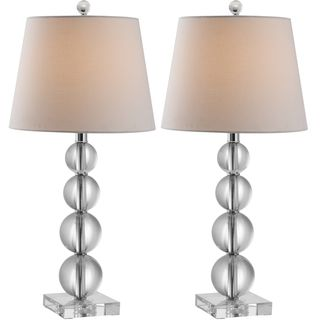 Indoor 1 light Millie Crystal Table Lamps (Set of 2)