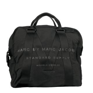 Marc by Marc Jacobs Black Standard Supply Aviator