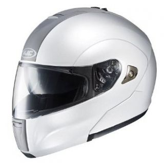 HJC SOLID IS MAX FULL FACE MOTORCYCLE HELMET (LARGE, WHITE