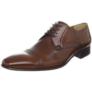 Mezlan Mens Alberta Oxford,Cognac,8 M US Shoes