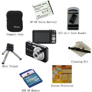 Casio Exilim EX Z80 8MP 8 in 1 Digital Camera Kit