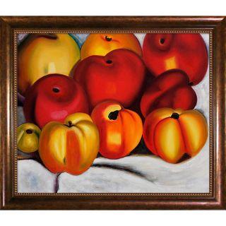 Georgia OKeeffe Apple Family II Framed Canvas Art