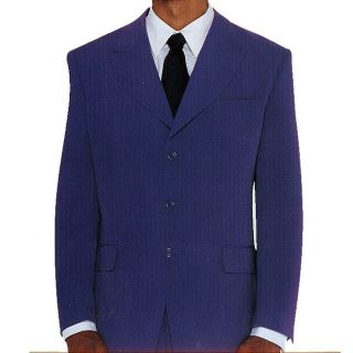 Ferreccis Mens Purple 2 button Suit