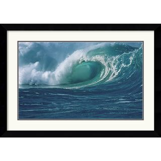 Mike Kelly Waimea Bay Framed Art