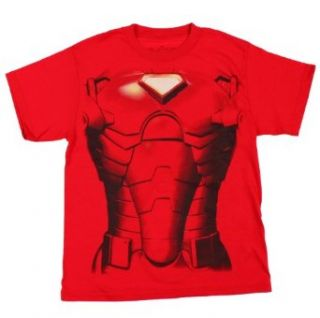 Marvel The Invincible Iron Man Flip Face Boys Shirt