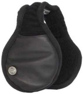 180s Mens Pilot Ear Warmer, Black, One Size Clothing