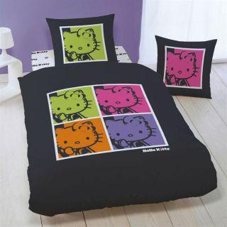 115 gr/m²   Lavable en machine à 60°C   Motif  Hello Kitty Pop Art
