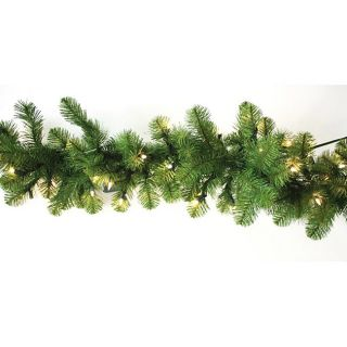 Good Tidings Nottingham 220 tip PVC 9 foot Pine Garland