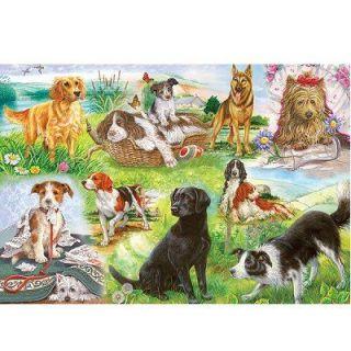 Puzzle 500 pièces   Nos amis les chiens   Achat / Vente PUZZLE Puzzle