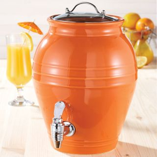 American Atelier Honey Pot Orange Peel 203 oz Beverage Dispenser Today