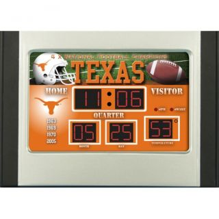 Texas Longhorns Scoreboard Desk Clock