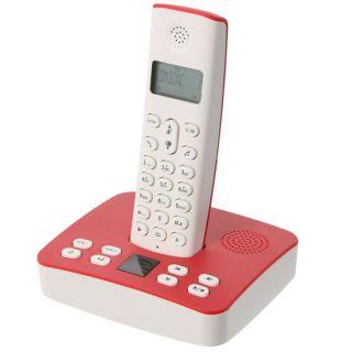 EDISON RIVA 450 Rouge   Achat / Vente TELEPHONE FIXE CE RIVA 450