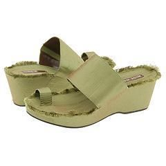 Nine West Cassius Medium Green Fabric