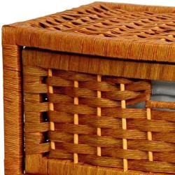 Natural Fiber 16 inch Chest of Drawers (China)
