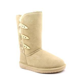 Bearpaw Womens Sarah Regular Suede Boots