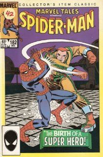 Marvel Tales Starring Spider man #182 December 1985 Stan Lee, Johnny