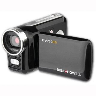 Bell+Howell DV200HD Compact High Definition Digital Video Camcorder