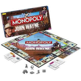 John Wayne Collectors Edition Monopoly Game