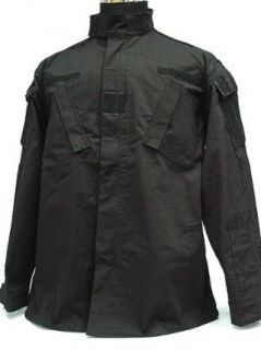 SWAT USMC US Army Black BDU Uniform Set Shirt Pants