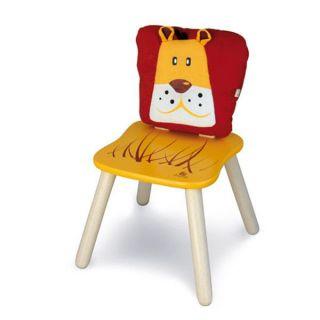 Chaise en bois pour enfant Zanimos   Léo   Achat / Vente CHAISE