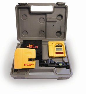 PLS Laser PLS 60522 PLS180 Laser Level System, Yellow