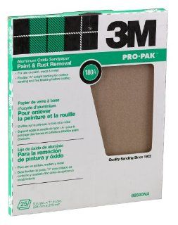 3M Pro Pak 88590NA Aluminum Oxide Sheets for Paint and Rust Removal, 9