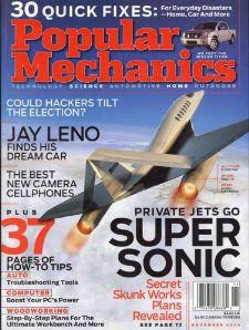 Popular Mechanics Magazine November 2004 Volume 181 No. 11 editors of
