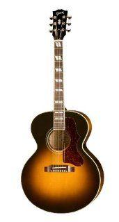 Gibson J 185 Acoustic Electric Guitar, Vintage Sunburst