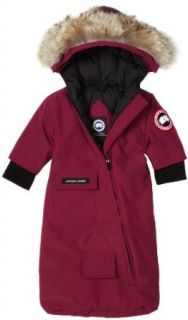 Canada Goose Baby Bunting,Berry,3 6 Clothing